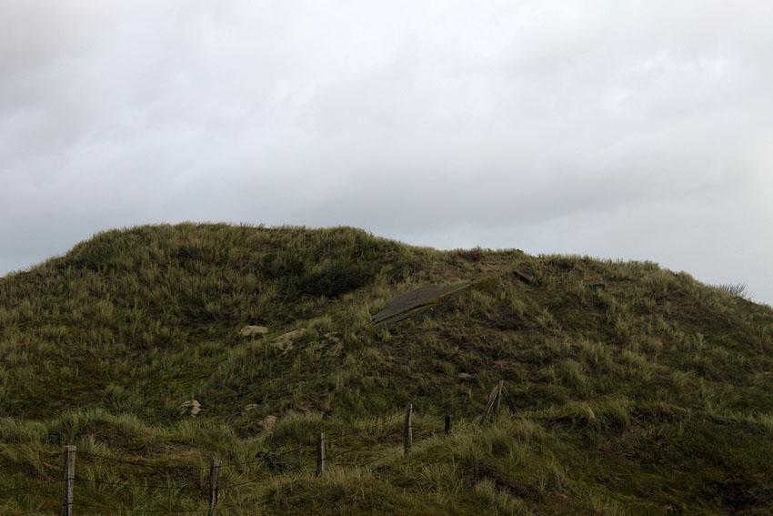 Reste schwere Flakstellung Nordstrand und Festungszentrale ...